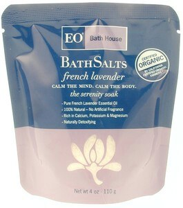 DROPPED: EO Products - Organic Bath Salts French Lavender CLEARANCE PRICED - 4 oz.