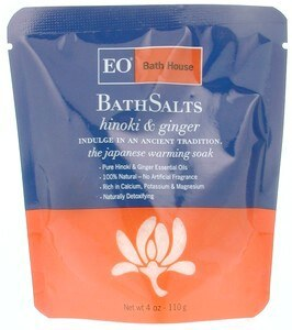 DROPPED: EO Products - Organic Bath Salts Hinoki & Ginger - 4 oz.