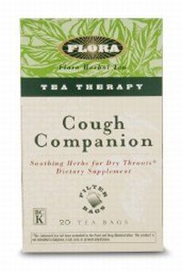 DROPPED: Flora - Cough Companion Tea Therapy - 20 Tea Bags