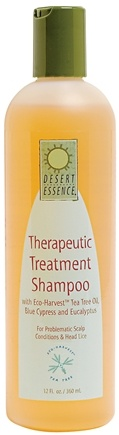 DROPPED: Desert Essence - Therapeutic Treatment Shampoo - 12 oz.