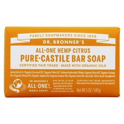 Zoom View - Magic Pure-Castile Bar Soap Organic