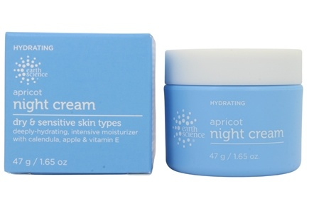 Earth Science - Night Creme Intensive Apricot - 1.65 oz.