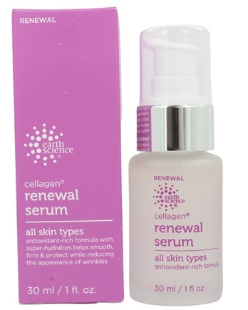 Earth Science - Active Age Defense Cellagen Renewal Serum - 1 oz.