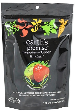 Zoom View - Earth's Promise Green Drink Mix 14 Day Supply
