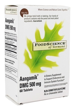 Aangamik DMG 500 mg  - 60 Chewable Tablets by