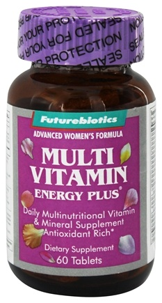 DROPPED: Futurebiotics - Multivitamin Plus For Women - 60 Tablets