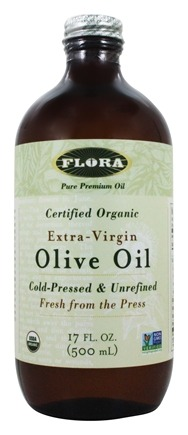 Flora - Extra-Virgin Olive Oil Certified Organic - 17 oz.