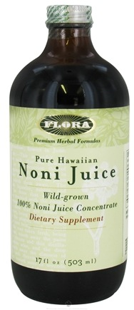 DROPPED: Flora - Pure Hawaiian Noni Juice - 17 oz. CLEARANCE PRICED