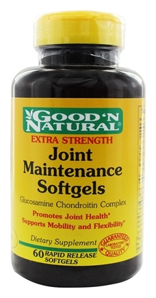 DROPPED: Good 'N Natural - Extra Strength Joint Maintenance Softgels - 60 Softgels