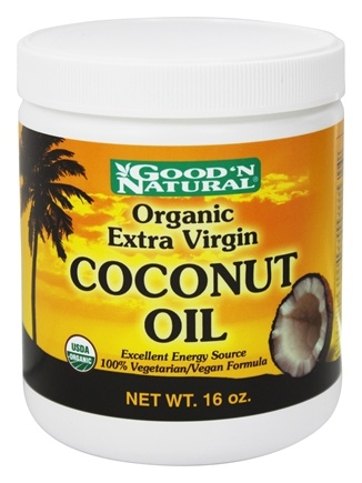 DROPPED: Good 'N Natural - Extra Virgin Coconut Oil - 16 oz.