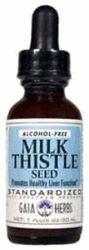 DROPPED: Gaia Herbs - Milk Thistle Seed Low Alcohol - 1 oz.