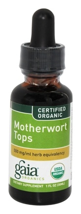 Zoom View - Motherwort Tops Certified Organic