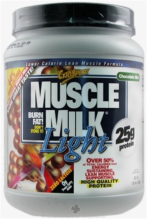 Zoom View - Muscle Milk Light High Quality Protein Lower Calorie Lean Muscle Formula