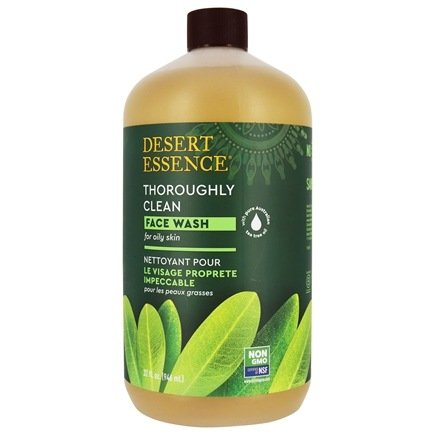 Desert Essence - Thoroughly Clean Face Wash with Tea Tree Oil and Awaphuhi - 32 oz. LUCKY PRICE