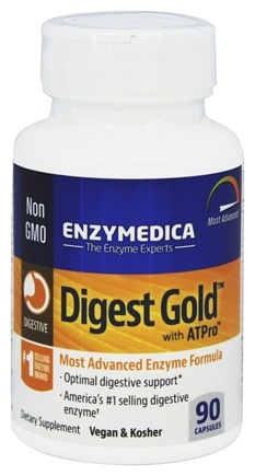 Enzymedica - Digest Gold with ATPro - 90 Capsules
