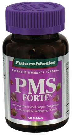 DROPPED: Futurebiotics - PMS Forte - 50 Tablets CLEARANCE PRICED
