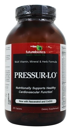 Futurebiotics - Pressur-Lo - 270 Tablets