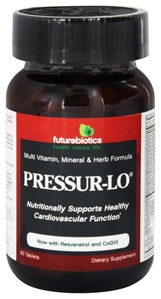 Futurebiotics - Pressur-Lo - 90 Tablets