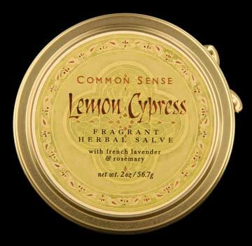 Zoom View - Lemon Cypress Salve