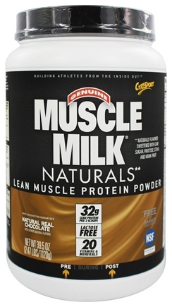 DROPPED: Cytosport - Muscle Milk Genuine Nature's Ultimate Lean Muscle Protein Natural Real Chocolate - 2.47 lbs.