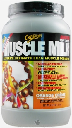 DROPPED: Cytosport - Muscle Milk Ultimate Lean Muscle Formula Orange Creme - 2.48 lbs. CLEARANCE PRICED