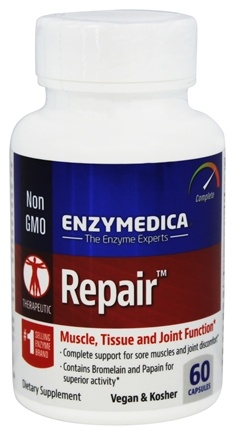DROPPED: Enzymedica - Repair - 60 Capsules
