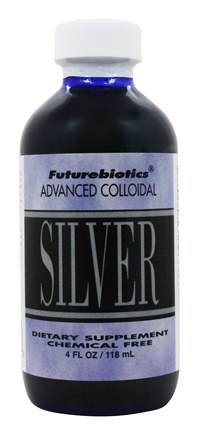 Futurebiotics - Advanced Colloidal Silver 10 Ppm - 4 oz.