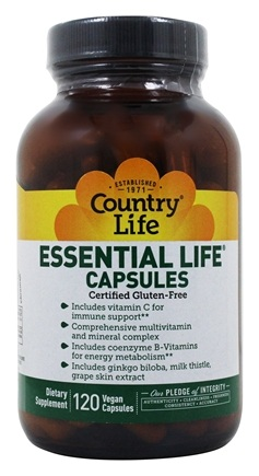 Zoom View - Essential Life Capsules Daily Multi-Nutrient Complex