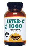 DROPPED: Country Life - Ester C 1000 mg. - 60 Capsules