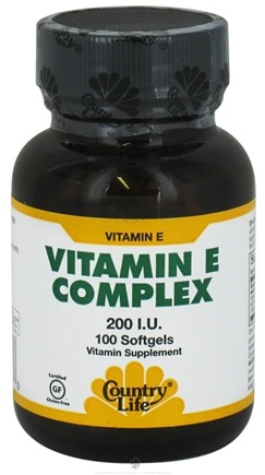 Zoom View - Natural Vitamin E Complex With Mixed Tocopherols