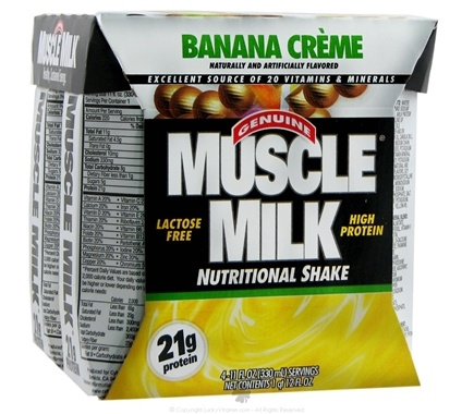 Zoom View - Muscle Milk RTD Nutritional Shake