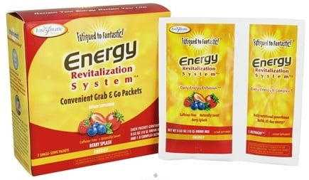 DROPPED: Enzymatic Therapy - Fatigued To Fantastic! Energy Revitalization System Berry Splash - 7 Packet(s)
