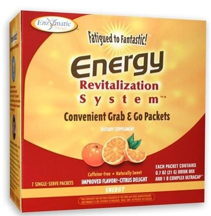 DROPPED: Enzymatic Therapy - Revitalization System Energy Citrus Delight - 7 Packet(s)
