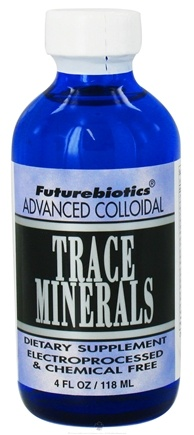 DROPPED: Futurebiotics - Trace Minerals - 4 oz. CLEARANCE PRICED