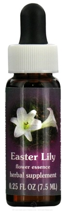 DROPPED: Flower Essence Services - Easter Lily Flower Essence - 0.25 oz. CLEARANCE PRICED