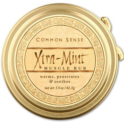 DROPPED: Common Sense Farm - Xtra Mint Muscle Rub - 1.5 oz. CLEARANCE PRICED