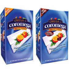 DROPPED: Coromega - Omega-3 Supplement Lemon-Lime Flavor - 30 Packet(s)