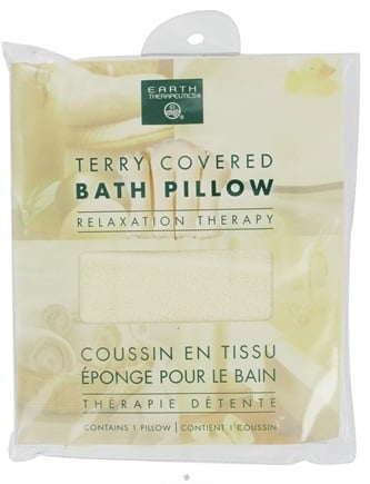 Zoom View - Terry-Covered Bath Pillow