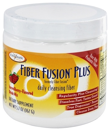 Enzymatic Therapy - Fiber Fusion Daily Cleansing Fiber Incrediberry-Flavored - 5.8 oz.