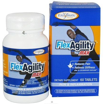 DROPPED: Enzymatic Therapy - FlexAgility MAX - 60 Tablets