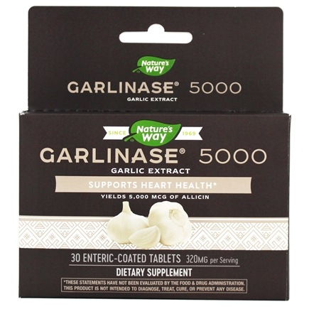 Enzymatic Therapy - Garlinase Fresh - 30 Tablets