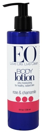 EO Products - Body Lotion Rose & Chamomile - 8 fl. oz.