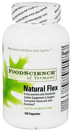DROPPED: FoodScience of Vermont - Natural Flex - 120 Capsules CLEARANCE PRICED