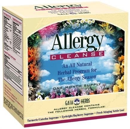 DROPPED: Gaia Herbs - Allergy Cleanse