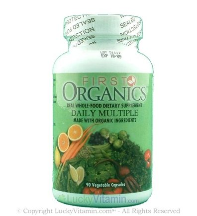 DROPPED: First Organics - First Organics Whole Food Daily Multiple - 90 Capsules