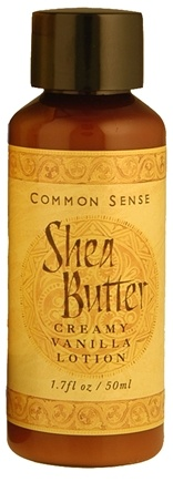 DROPPED: Common Sense Farm - Shea Butter Lotion - 1.7 oz. CLEARANCE PRICED