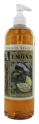 Common Sense Farm - Hand & Body Cleanser Sweet Almond - 16.9 oz.