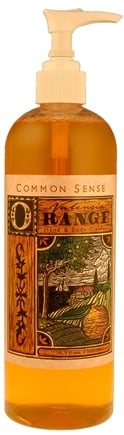 DROPPED: Common Sense Farm - Valencia Orange Hand & Body Cleanser - 16.9 oz. CLEARANCE PRICED