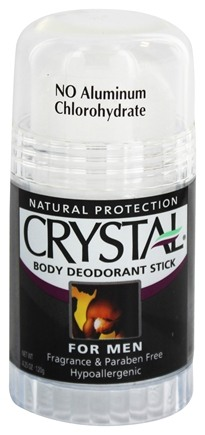 Zoom View - Crystal Stick Body Deodorant For Men By French Transit