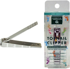 DROPPED: Earth Therapeutics - Toenail Clipper with clipping catcher